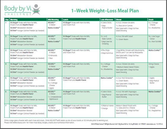 body by vi meal plan pdf