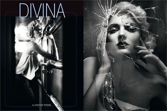 August 2012, Divina. Photos by Vincent Peters - click on the photo to see the complete story