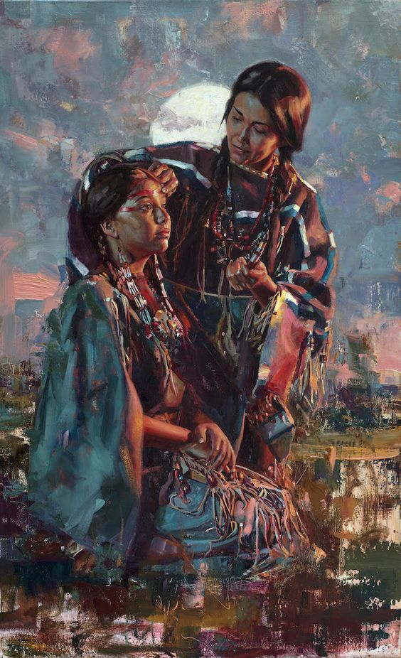 Interview: Jeremy Winborg Creates Expressive Native American Portraits