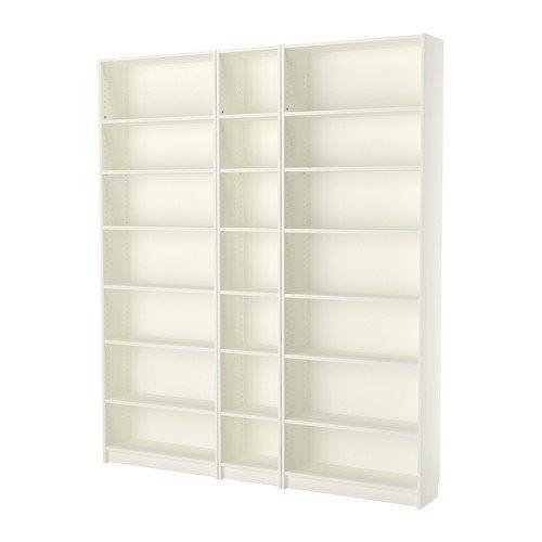 Ikea Bookcase White 18202 52326 1030 Ikea Https Www Amazon Com Dp B01j7kjw16 Ref Cm Sw R Pi Dp U X Mwgbcb9h Ikea Bookcase White Bookcase Ikea Billy Bookcase