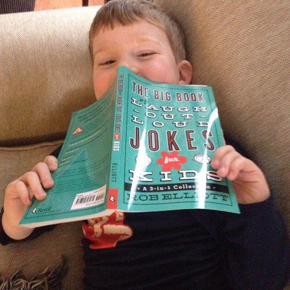 """#Joy: Laughing with this boy telling jokes.  #40days @rethinkchurch"""