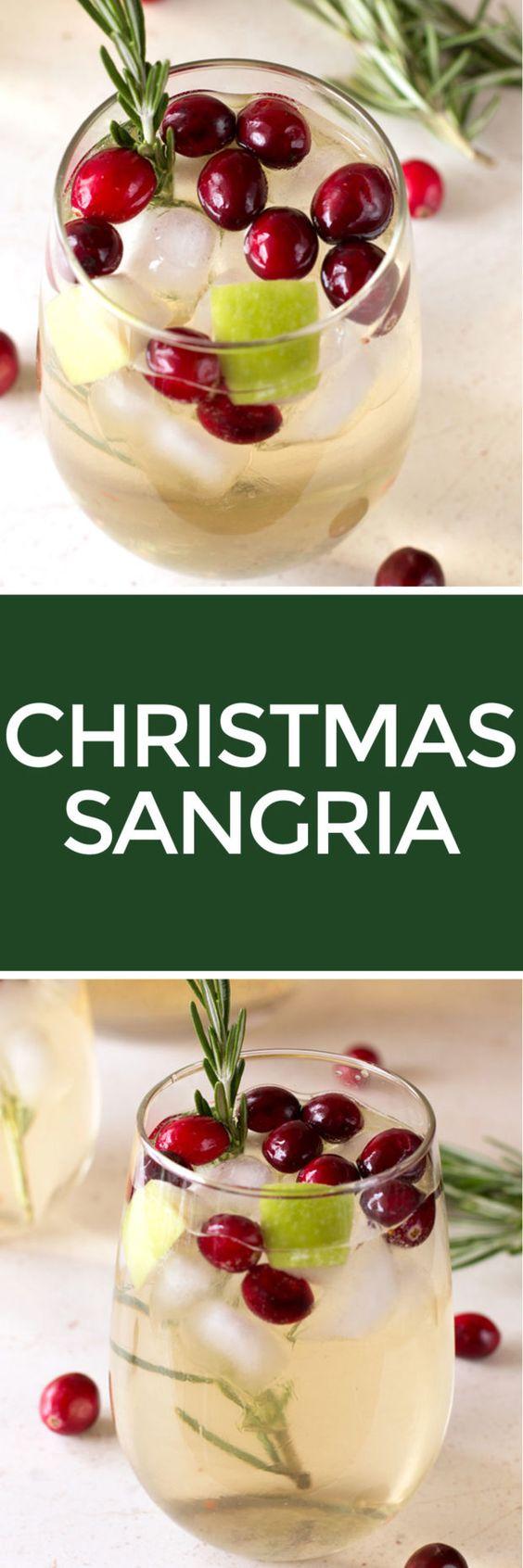 Christmas Sangria | cakenknife.com: