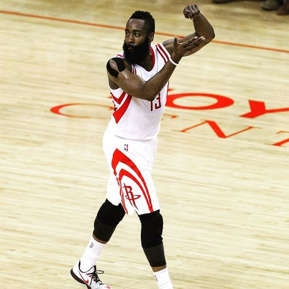 「What curse? James Harden was COOKING in Game 4 as he dropped a playoff career-high 45 points to lead the Rockets to a victory over the Warriors and stave…」