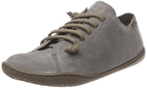 Camper Peu Cami 20848 Womens Charcoal Leather New Lo Top Trainers Shoes Boots
