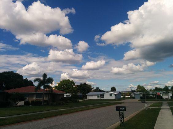 Little Fluffy Clouds - taken by Frank Gomez with Nexus 5.
