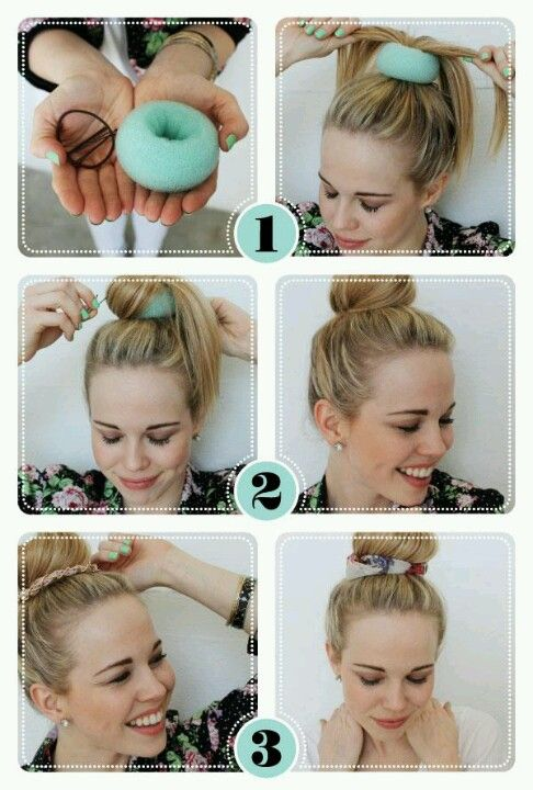Fine Perfect Bun Buns And Sock Buns On Pinterest Hairstyles For Men Maxibearus