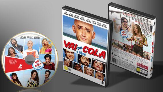 Vai Que Cola - O Filme - Capa | VITRINE - Galeria De Capas - Designer Covers Custom | Capas & Labels Customizados