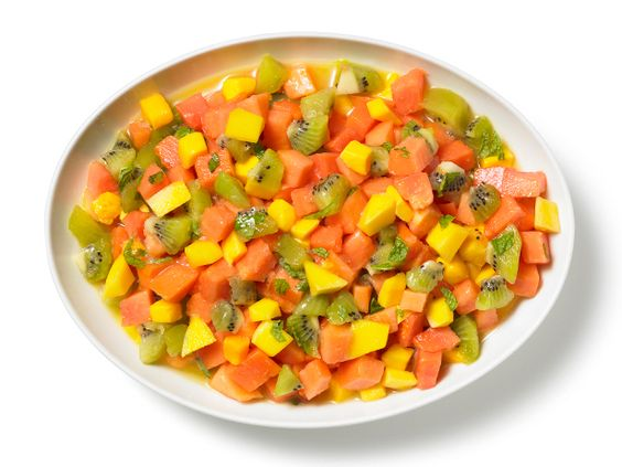 Tropical Fruit Salsa from #FNMag #Breakfast #Fruits #MyPlate