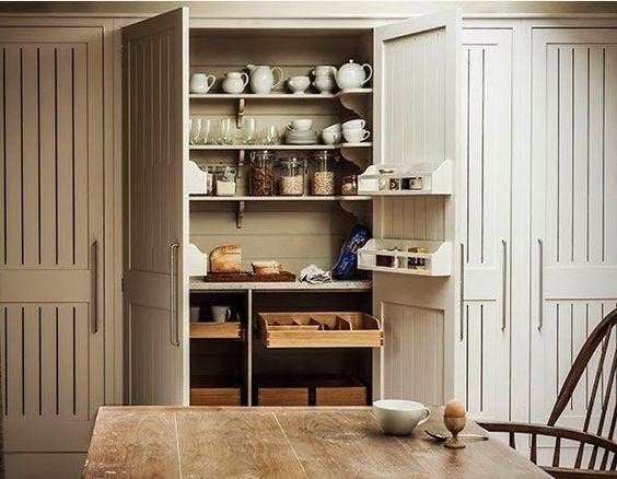 Plain English Pantry Cupboard Pantry Pinterest