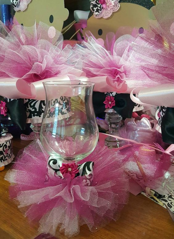 Ballerina Tutu First Birthdays And Wine Glass On Pinterest