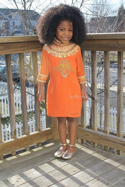 Prom dress african kids