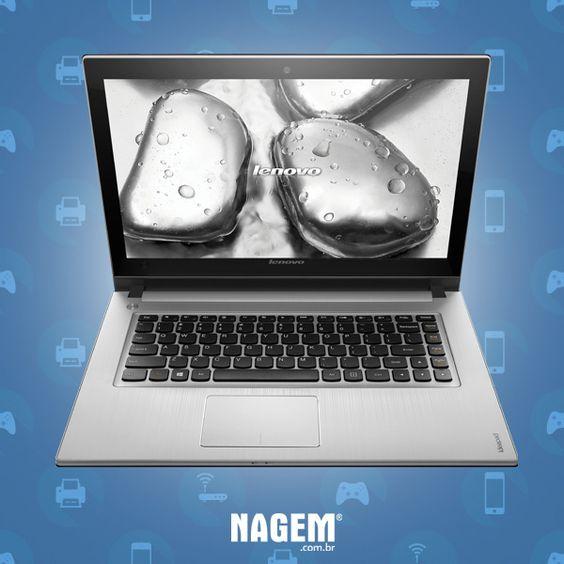 Este potente notebook Lenovo é mais um produto em destaque na #SemanaDaInformática. Tenha em mãos uma máquina leve e potente, com 8 GB de memória e processador Intel Core I5 e HD de 1TB. Esta é a hora perfeita para dar aquele upgrade de equipamento. Saiba mais: http://goo.gl/HQQknD