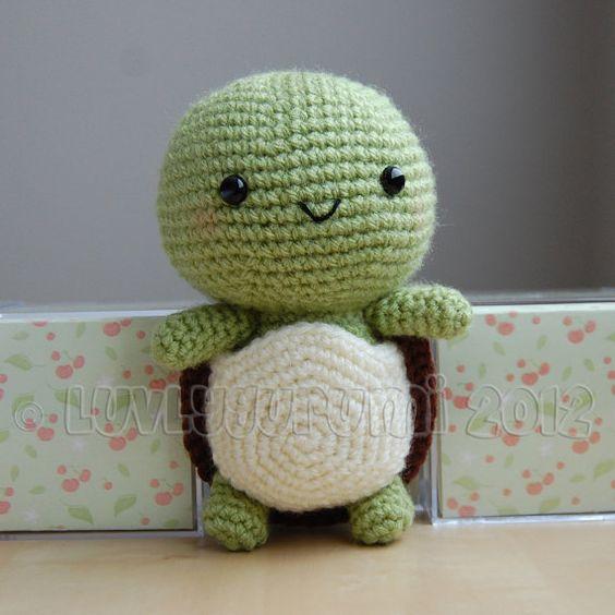 Turtle Gurumi Crochet Pattern