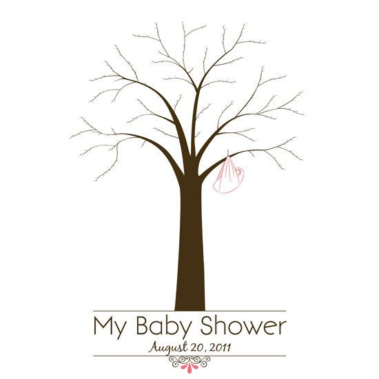 baby shower pinterest trees baby showers and fingerprint tree