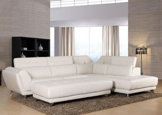 Mars White 2 Pc. Sectional