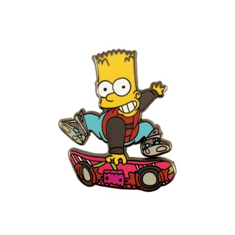 Barty McFly Pin