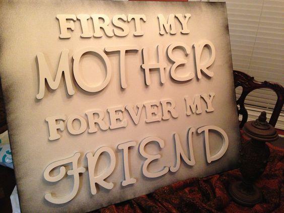 Mother, friend