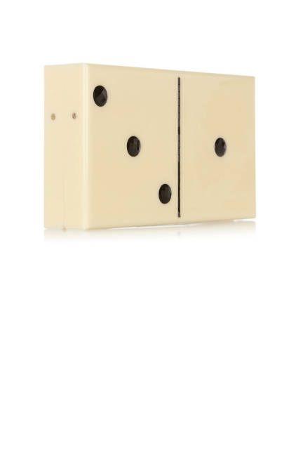 Charlotte Olympia's domino clutch