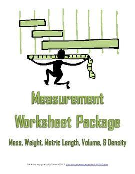 science measurement worksheet package middle school science and middle. Black Bedroom Furniture Sets. Home Design Ideas