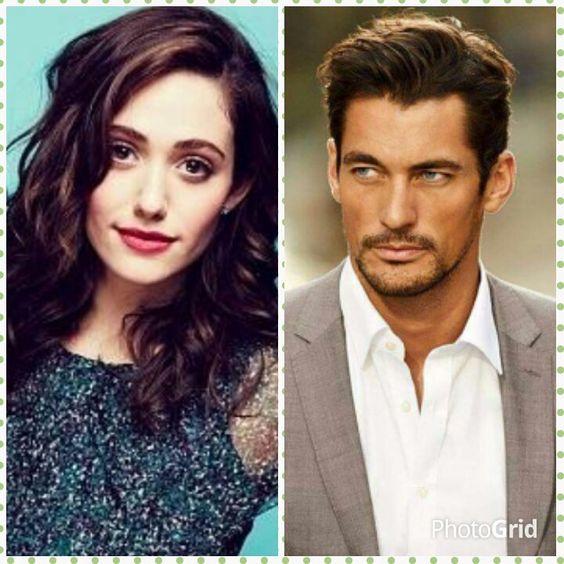 Gabriel's Inferno - The most preferred couple by people to play #Gabriel and #Julia...#David Gandy and #EmmyRossum #WeWantaGabrielMovie  Sylvain Reynard,OhMyGandy! (@OhMyGandyFans)   Twitter