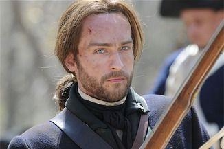 English actor Tom Mison as Lord John Grey
