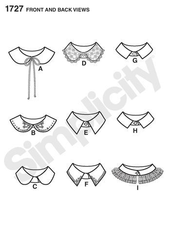 Misses' DIY Collars: