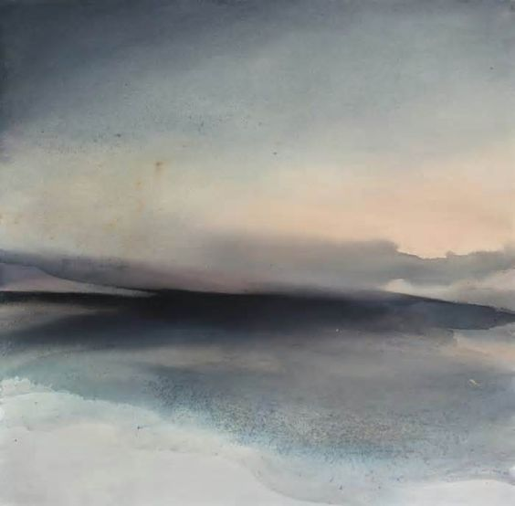 """""""And here. The Instant"""" / Abstract Landscape Painting by Sabrina Garrasi #instant #abstract #landscape #painting #sabrina #garrasi"""