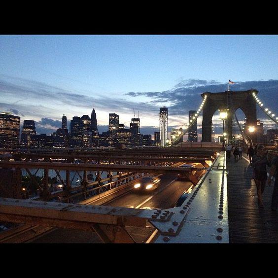 NYCPin.it ∞ NYC skyline at night.
