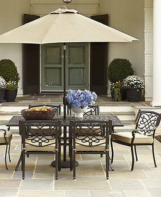 Wentley Outdoor Patio Furniture Dining Sets & Pieces 7
