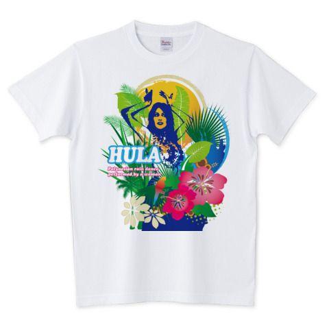フラガール A   デザインTシャツ通販 T-SHIRTS TRINITY(Tシャツトリニティ)