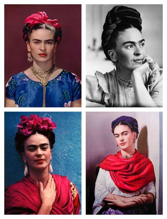 Crafty Lady Abby: BEAUTY: Frida Kahlo's Braided Hair