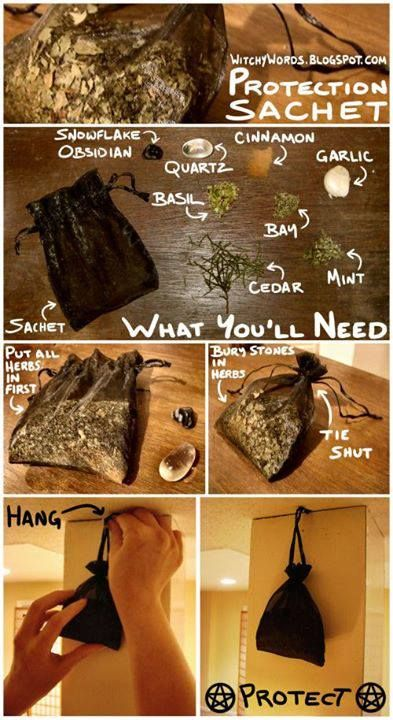 How To Make A Protection Sachet It Will Keep Bad Or
