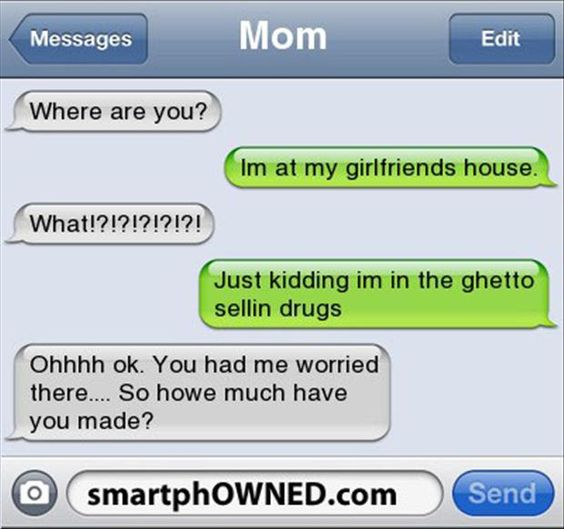 35 Funny Texts From Parents