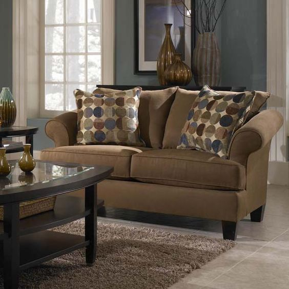 Tan Couches Decorating Ideas Warm Tan Couch Color For Inviting Living Room Decoration Idea