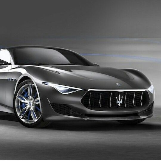 Maserati Alferi is a concept car. Dope!!!!