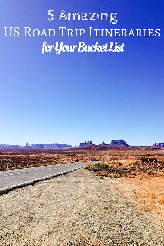 Amazing US Road Trip Itineraries For Your Bucket List Road - Us east coast road trip map