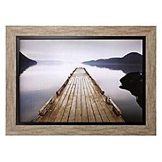 image of Wood Pier Framed Wall Art
