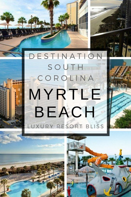 The Myrtle Beach Resort Vacations Scene