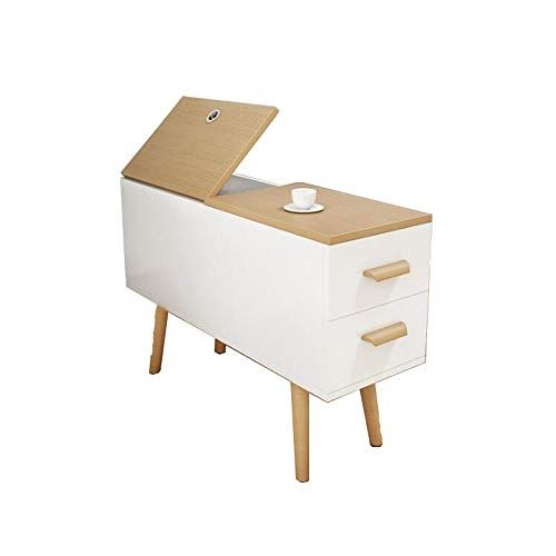 Xiaolin Table 2 Drawer Bedside Side Table Nordic Sofa Side Cabinet