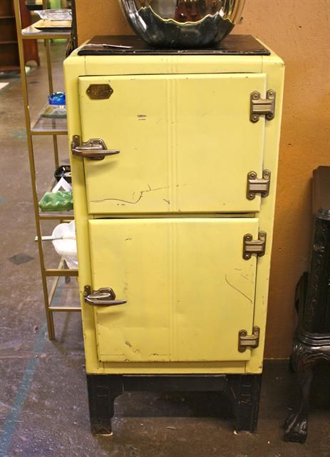 1920s Ice Palace Refrigerator Old Ice Box Pinterest