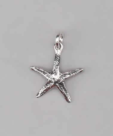 Take a look at this Sterling Silver Starfish Charm by Five Little Birds Jewelry on #zulily today!
