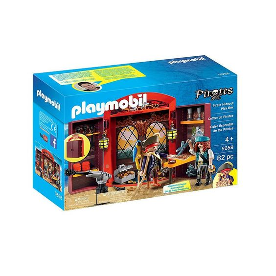 Playmobil Pirates Hideout Play Box - 5658, Multicolor