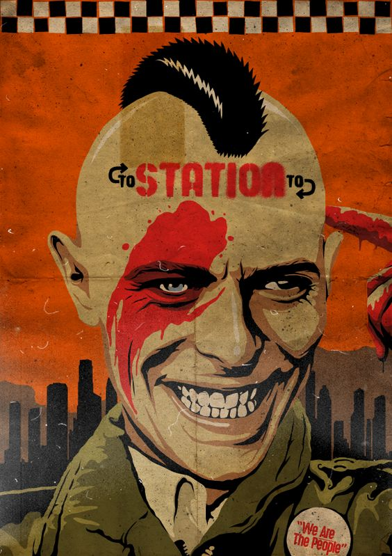 David Bowie - Station to Station Butcher tribute