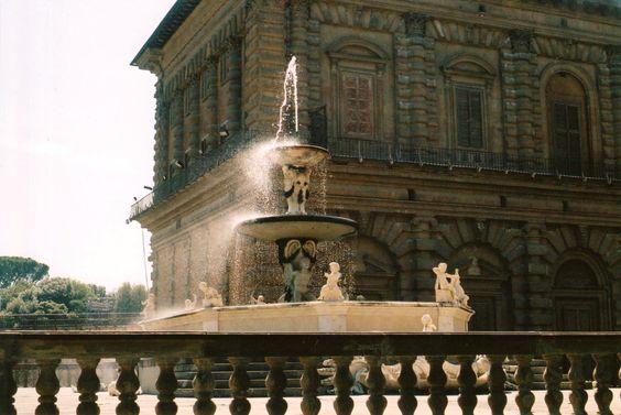 Fountain at the Boboli Gardens, E. Underwood