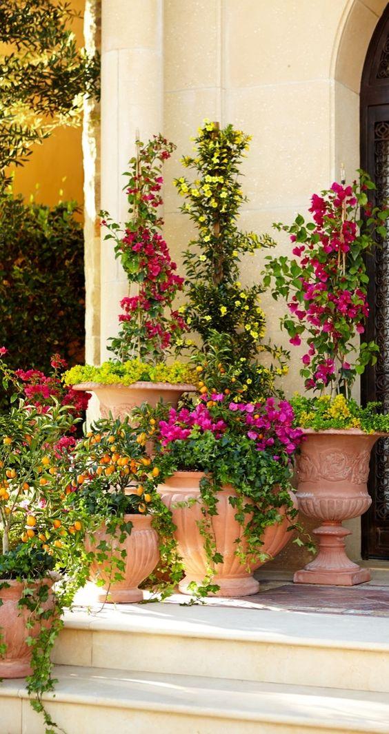 Echoes of ancient mediterranean civilizations resonate in for Italian patio design