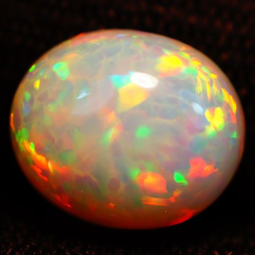 3 85ct 12x10mm Awesome Super Play 3D Honey Comb RARE Superb Saturated Welo Opal | eBay