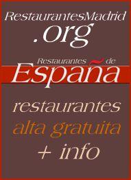 Restaurantes por tipo de cocina en Madrid