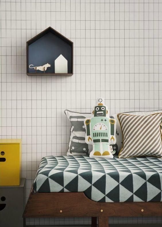 Ferm Living Studio 1 (http://www.nest.co.uk/product/ferm-living-studio-1-2-3) and Ferm Living Remix Blanket (http://www.nest.co.uk/product/ferm-living-remix-blanket)