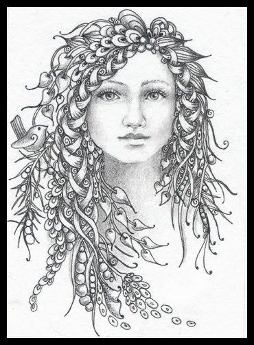 Fairy Tangles: December 2011 | ZENTANGLE! | Pinterest ...