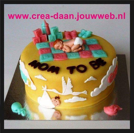 Babyshower taarten   Crea-daan.jouwweb.nl